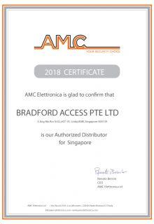BRADFORD-certificate